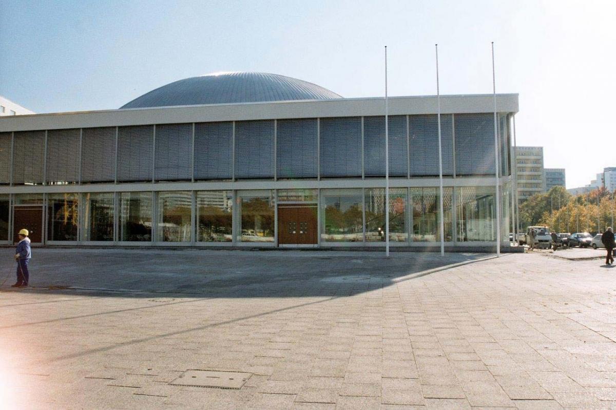 Berliner Kongresshalle Alexanderplatz
