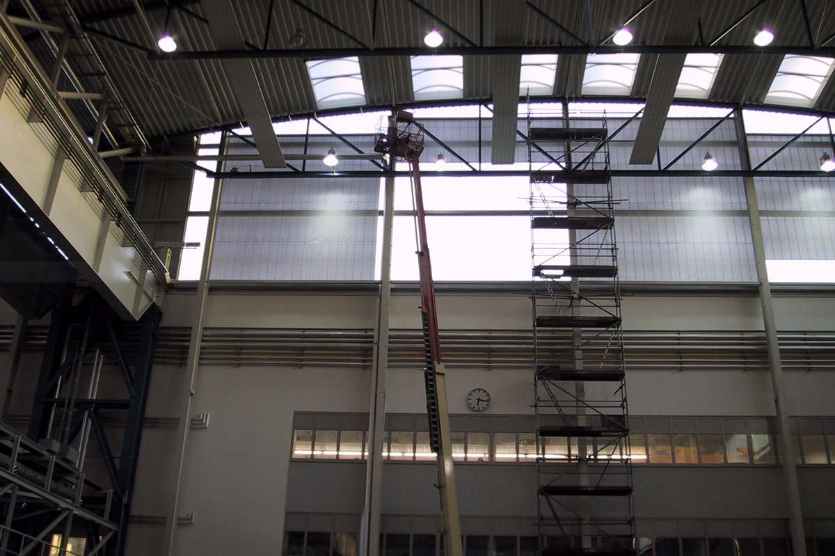 Industriehalle Mühlheim