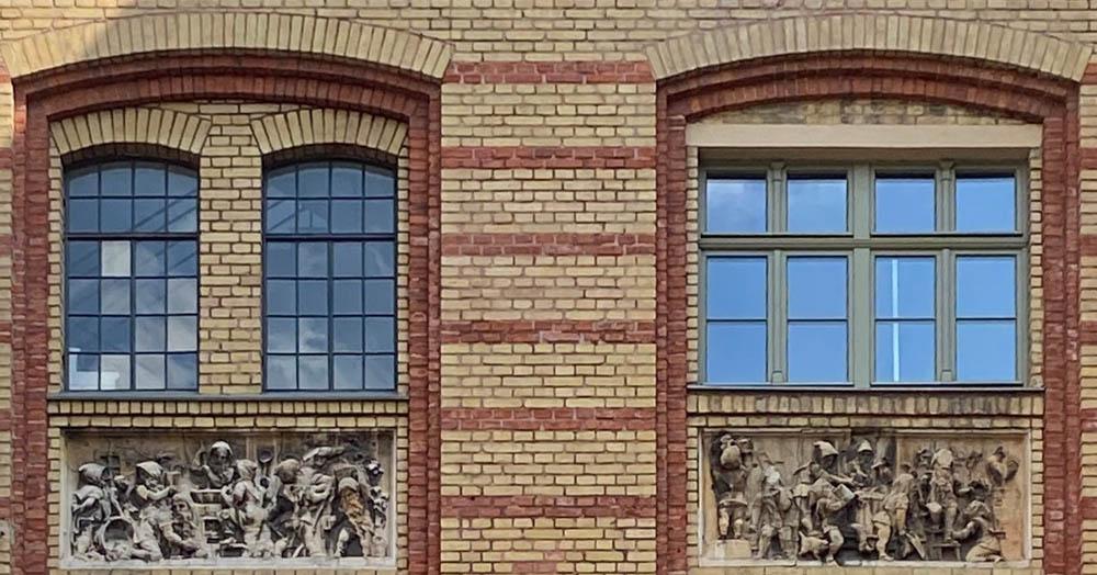 Holz und Stahlfenster Denkmal